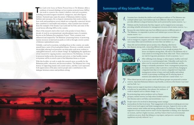 Marine Protected Areas Bahamas 2