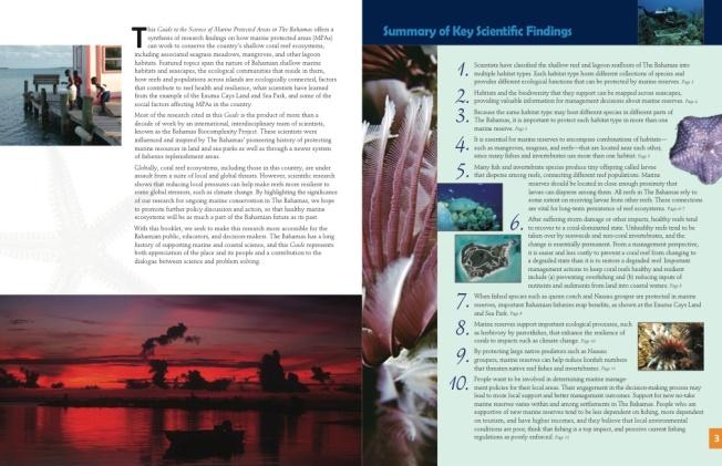 Marine Protected Areas Bahamas 3