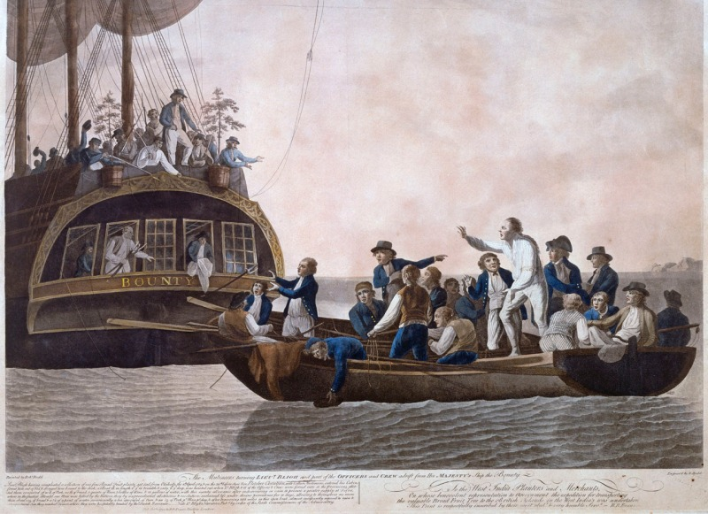 Mutiny on the HMS Bounty (Robert Dodd)