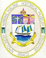 Wyannie Malone Museum Crest, Hope Town, Abaco