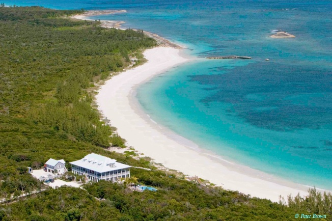 Delphi Club, Rolling Harbour, Abaco aerial