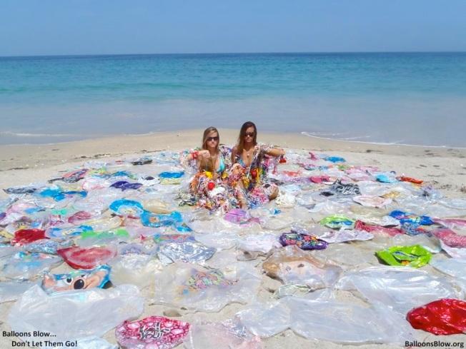 Marine Debris - Balloons & Plastic (Balloons Blow)