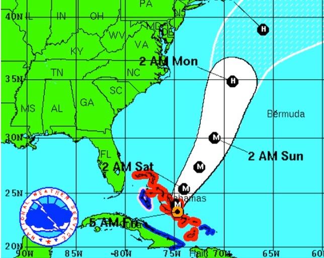 Hurricane Joaquin Oct 2nd 2