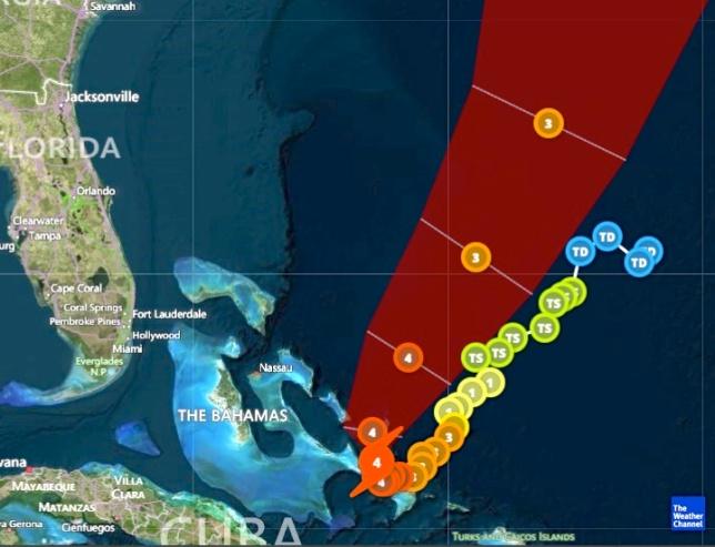 Hurricane Joaquin Oct 2nd 5