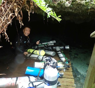 Hitoshi Miho, Ralph's Cave, Abaco