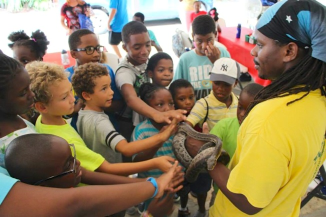Scott Johnson - BNT - Bahamas Snakes - Children's Education