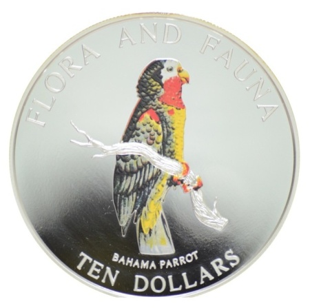 Abaco Parrot coin jpg