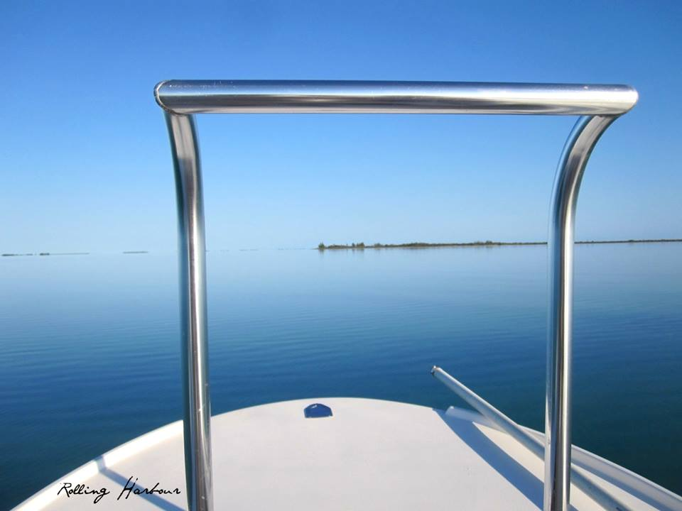 View from a Skiff, the Marls, Abaco, Bahamas