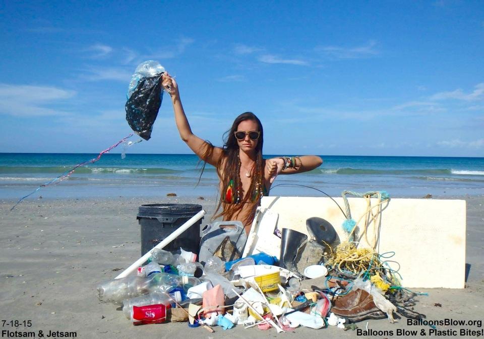 Balloons Blow - Beach Debris (http://balloonsblow.org)