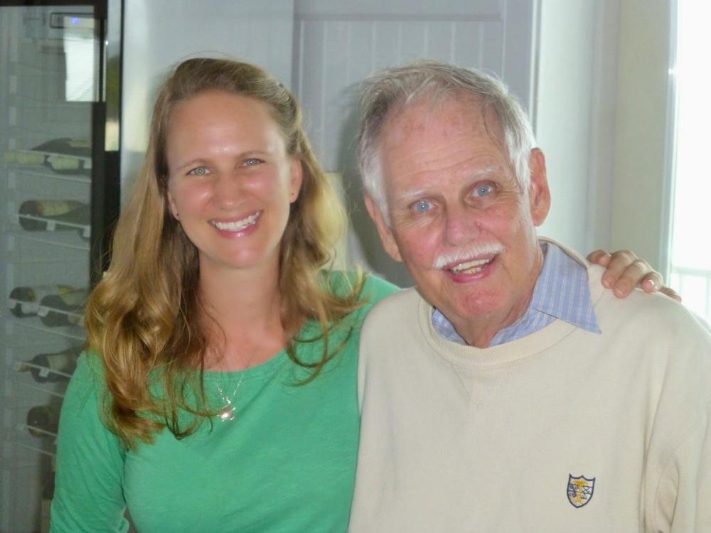 Tony White with Caroline Stahala