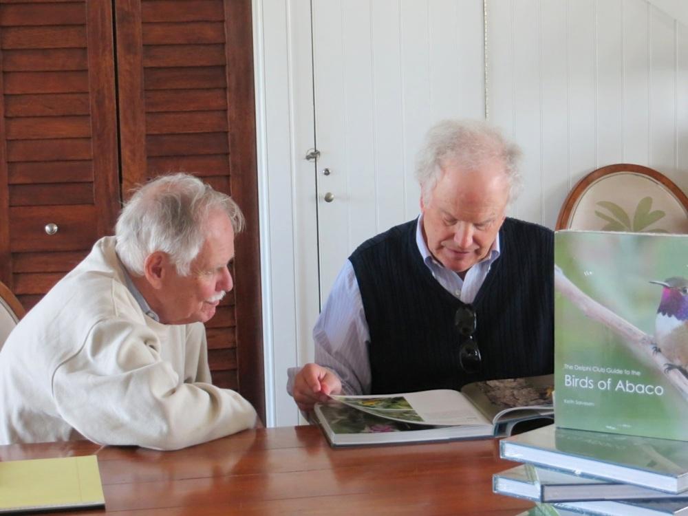 Tony White, Birds of Abaco launch, Delphi Club 1
