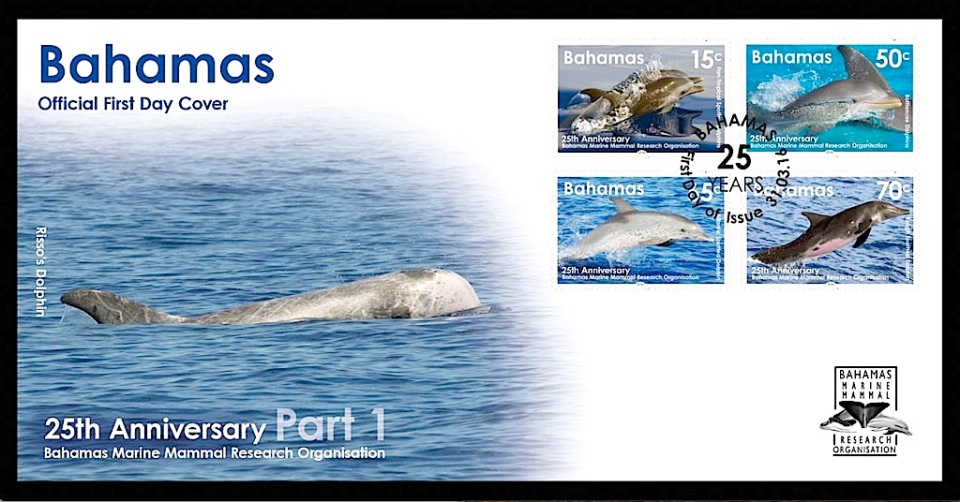 Bahamas Dolphin Stamps 2016