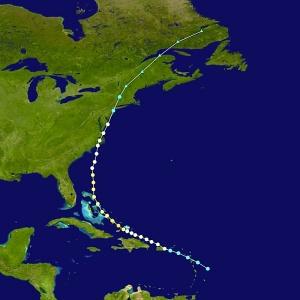 Hurricane Irene_2011_track