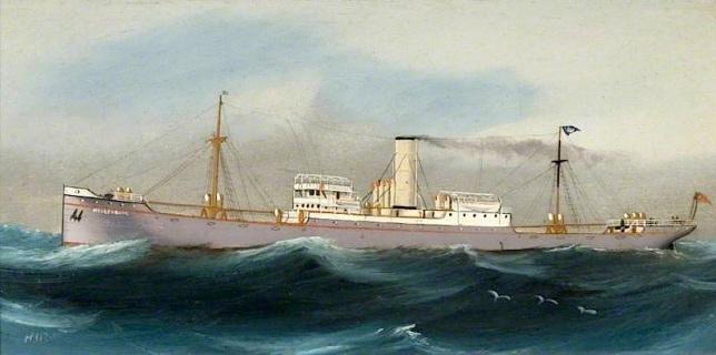 Hiram; SS 'Hesleyside'; Sunderland Museum & Winter Gardens; http://www.artuk.org/artworks/ss-hesleyside-35255