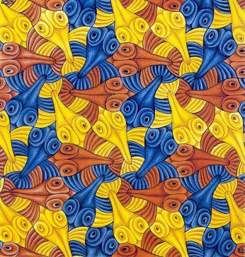 Escher fish