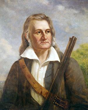 John James Audubon & gun