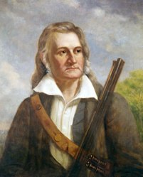 John James Audubon & gun