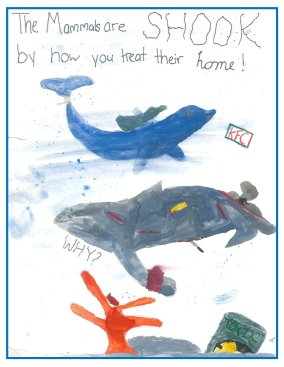 BMMRO children's poster competition winners