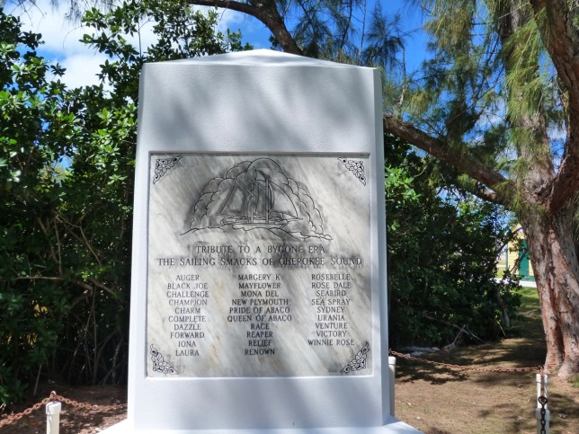 Tribute Monument to the Sailing Smacks of Cherokee Abaco (Keith Salvesen)
