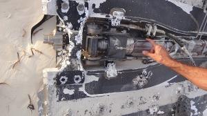 Falcon 9 rocket shroud - Space Debris - Elon Musk - SpaceX - Abaco Bahamas
