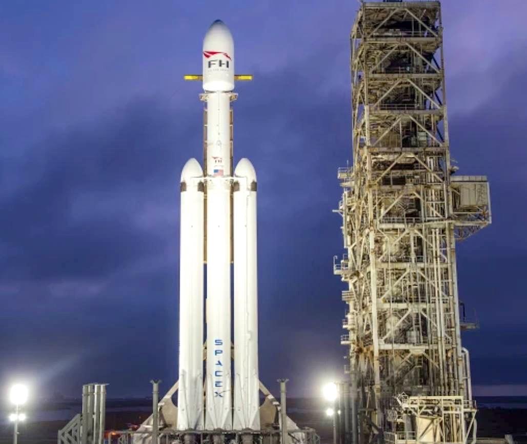 Falcon 9 rocket - Space Debris - Elon Musk - SpaceX - Abaco Bahamas