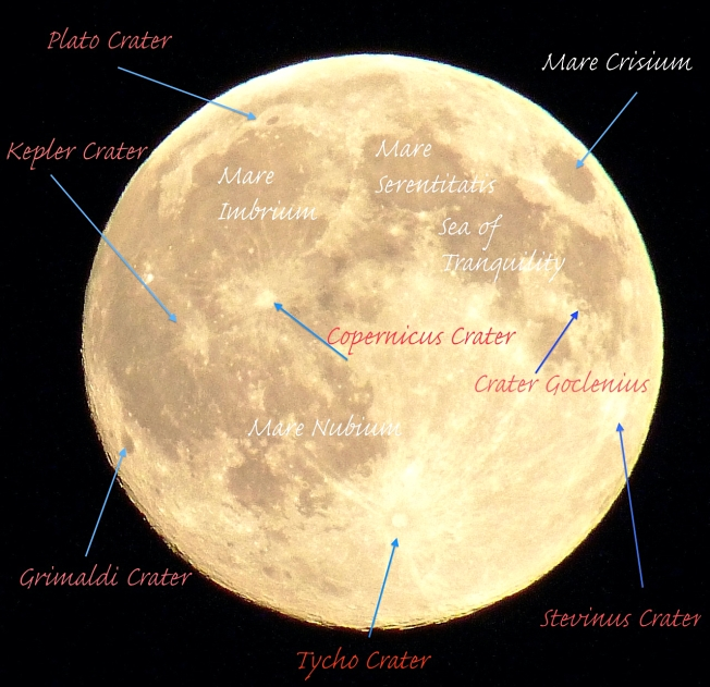 Supermoon - annotated mapping (Keith Salvesen / Rolling Harbour Abaco)